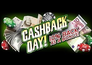 Cash back online casino bonuses