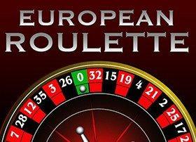 Рулеткым Европейский