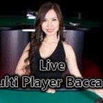 Live – Multi Player Baccarat