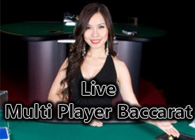 Live VIP Casino - Multi Player Baccarat