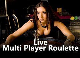 Live Multi Player Roulette