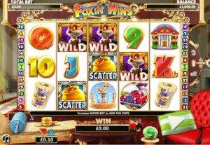 FoxinWins online slots games