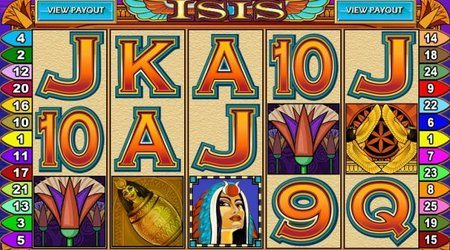 Isis £125,000 Jackpot Mobile Casino Slot Game