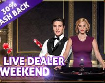 Live Dealer Weekend